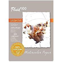 Handbook Paper Fluid 100 Watercolor Cp 140Lb Ez-Block 12X16