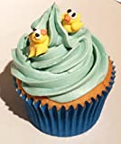 12 Sugar Mini Yellow Ducks- Beautiful Edible Cake Decorations