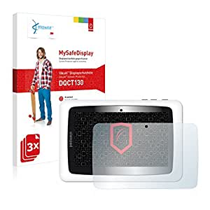 3x Vikuiti MySafeDisplay Protector de Pantalla DQCT130 de 3M para Clementoni Clempad 6+ 69293.4 (2013)