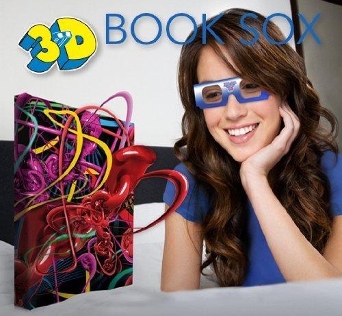 1 X 3D Book Sox - Shimmer