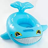 Baby Kids Inflatable Whale Swim Boat Float Water Chair Safety Seat Fun Trainer Aid