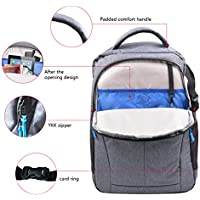RCYAGO Waterproof Backpack traveling Bag Carrying case for DJI Phantom 4/ 4 PRO 3 Standard Professional Advanced with Grey