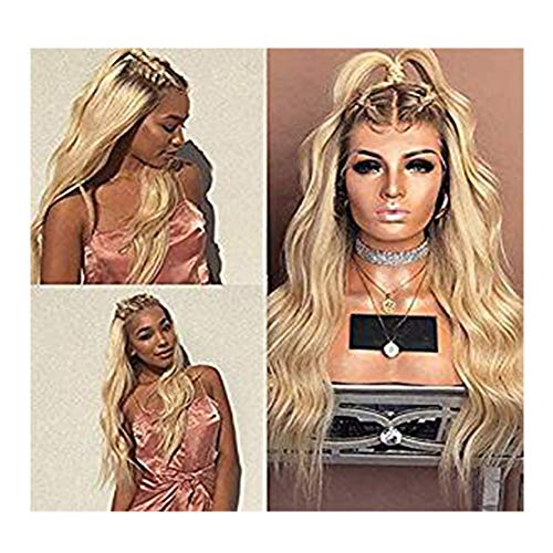 Dream Beauty Full Lace Human Hair Wig 8A Grade Ombre Blond 4/613 Color 130% Density Virgin Lace Front -