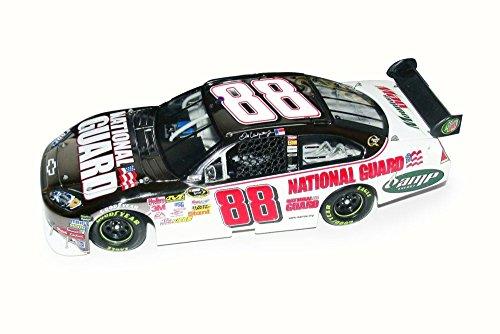 - 2008 Nascar Dale Earnhardt #88 National Guard Chevy Impala SS, White w/ Black - NASCAR C4488 - 1/24 Scale Diecast Model Toy Car