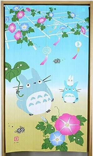 Narumikk Studio Ghibli noren Japanese curtain Summer,Color of summer from Japan 10317