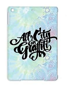 Urban Graffiti City Street Art All City In Graffiti Cursive Tag Suburban Sweet Art Design For Ipad Air Black Case