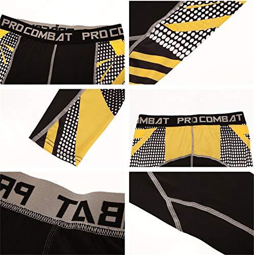 Leggings Blanc Vetements Gym Morbuy Costumes Yoga Jogging Fitness Jaune Sport Rapide Pieces Survetement Ensembles 2 Athletisme Sportswear Hommes Sechage zBxnzqvgTa