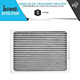 Home Revolution Air Filter Fits Frigidaire Refrigerator Pure Air...