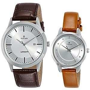 Titan Modern Bandhan Analog Silver Dial Unisex Watch-NM15842481SL01 / NL15842481SL01