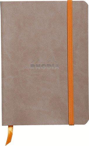 Rhodiarama Dot 4X6 inch Taupe Notebook