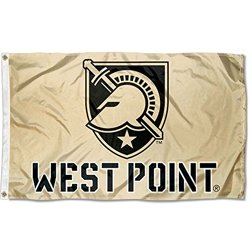 Army Black Knights Large West Point Gold 3x5 College Flag ()