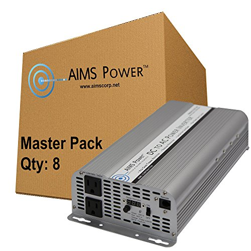 AIMS Power MPINV250024W 2500W 24V Power Inverter, 8 Piece...