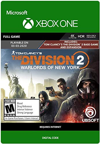 Tom Clancy's The Division 2: Warlords of New York Standard - Xbox One [Digital Code]