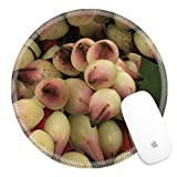 Luxlady Round Gaming Mousepad 22089904 Flowers