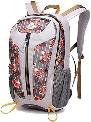 アウトドアリュックサック多機能な登山バッグ男性と女性のスポーツハイキングアウトドア旅行袋25L旅行ショルダーバッグ ( 色 : Flowers orange )