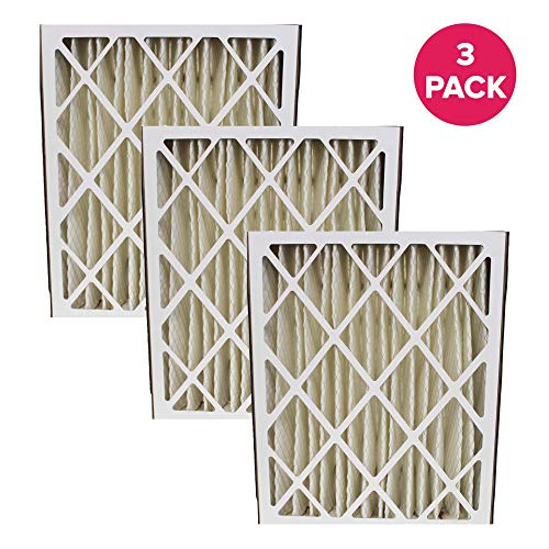 Think Crucial Replacement Air Purifier Filter Compatible With Lennox Part # 8171433K,83377,8171433 & Models Lennox: HCC20-28-Trion Air Bear: 453000-001,Supreme 2000,455602-001,447380-002 (3 Pack)