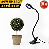 ZOTRON All-in-One 20W, Flexible Artistic Growing LED Light Bulbs for Greenhouse, Grow Tent, Indoor Plants and Hydroponic Garden, Full Spectrum Growing Lamps 160 Degree Wide Area Coverage