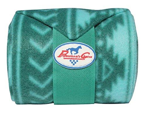 Professionals Choice Polo Wrap, Tribal Hunter Green - Horsebit Green