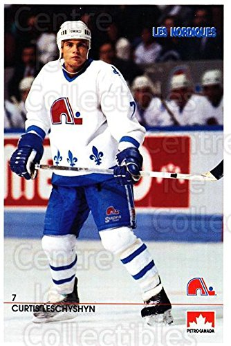 curtis-leschyshyn-hockey-card-1990-91-quebec-nordiques-petro-canada-15-curtis-leschyshyn