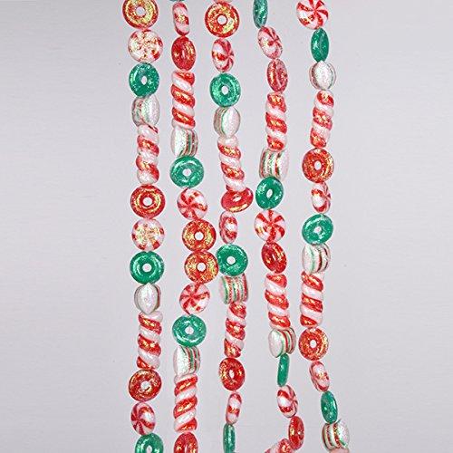 Kurt Adler Red and Green Candy Garland (Ornaments Garland Christmas)