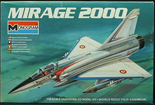 Monogram 1:48 Mirage 2000 - Plastic Model Kit #5425, used for sale  Delivered anywhere in USA