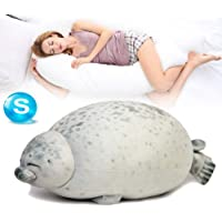 Cute Blob Seal Plush Pillow Soft Chubby Hug Stuffed Cotton Animal Plush Pillow Toy 30cm/11.8in Style B