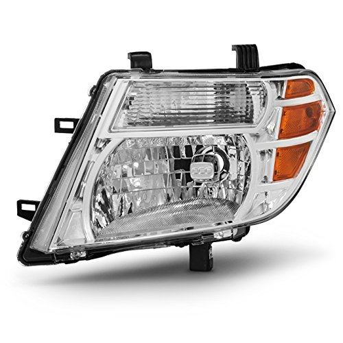 For 08-12 Pathfinder Driver Left Side Headlight Head Lamp Front Lamp Direct Replacement Left Driver Side ()