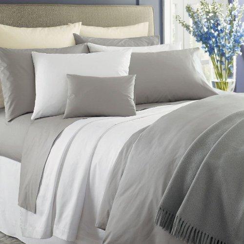 Simply Celeste Custom by Sferra - Grey Continental Sham - Sferra Luxury Bedding Celeste