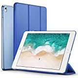 ESR iPad Pro 12.9 2017 Case, Lightweight Smart Case Trifold Stand with Auto Sleep/Wake Function, Microfiber Lining, Hard Back Cover for Apple iPad Pro 12.9' (Navy Blue)