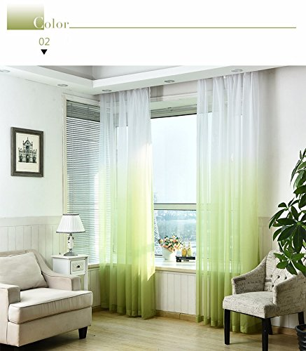 Rod Pocket Type Tulle Curtains 3d Printed Kitchen Decorations Window  Treatments American Living Room Divider Sheer