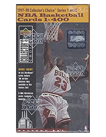 Amazoncom 1997 98 Upper Deck Collectors Choice Basketball