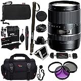Tamron 16-300mm f/3.5-6.3 Di II VC PZD MACRO Lens for Sony Cameras B016S + Polaroid 72
