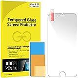iPhone 6 Plus Protector de Pantalla, JETech [3D Touch Compatibles] iPhone 6 Plus Vidrio Templado Protector de Pantalla Empaquetado al por Menor para iPhone 6 Plus y iPhone 6s Plus 5.5 - 0810
