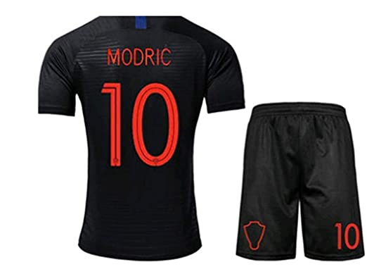 on sale 40182 5fb5d LISIMKE Croatia Away Soccer Luka Modric #10 Jersey 2018/2019 ...