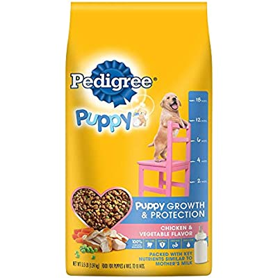 PEDIGREE Complete Nutrition Puppy Dry Dog Food (Chicken, 3.5 lbs. (Pack of 3))