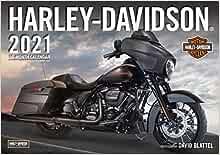 Harley Davidson® 2021: 16 Month Calendar   September 2020 through