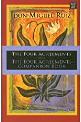 The Four Agreements and the Four Agreements Companion Book Library Binding