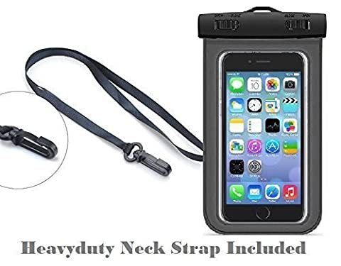 Universal Waterproof Bag Neck Strap, Neck strap Case Cover Holder For iPhone 6 6S 7 Plus Galaxy S7 S7 Edge Note 3 4 5 and Other Mobile Phones (Waterproof Neck (S3 Cases Mickey Mouse)