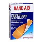 Band-Aid Flexible Fabric Bandages, Extra Large 10 ea(pack of 2)