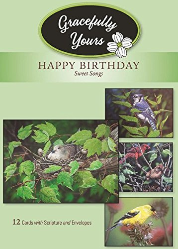 Amazon gracefully yours sweet songs birthday greeting cards gracefully yours sweet songs birthday greeting cards featuring muggs depuydt 12 4 designs m4hsunfo