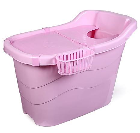 Aumentare adulti Bagno Barrel semi-piegata vasca da bagno di ...