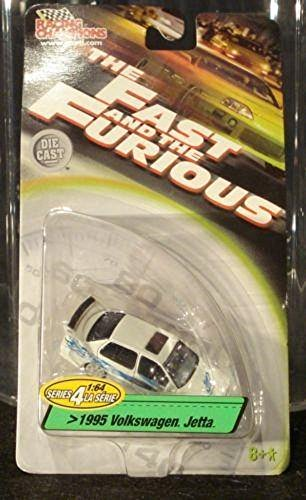 The Fast and The Furious Series 4 White 1995 Volkswagen Jetta