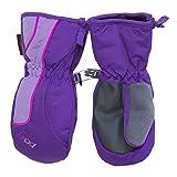 Head Jr. zippered side Ski Mittens, (XX-Small (Ages 1-2), Purple / Pink)