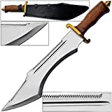 Crocodile Dundee Sawback Bowie Knife Massive Stand Alone Survival Blade 19.5in