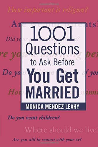 Pdf Self-Help 1001 Questions to Ask Before You Get Married