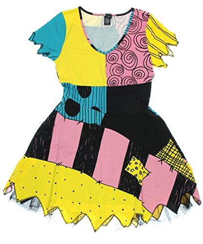 [The Nightmare Before Christmas Sally Costume Dress (Small)] (Sally A Nightmare Before Christmas Costumes)