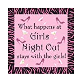 Bachelorette Party Favors Girls Night Out Cocktail Napkin Party Game, 24 Count