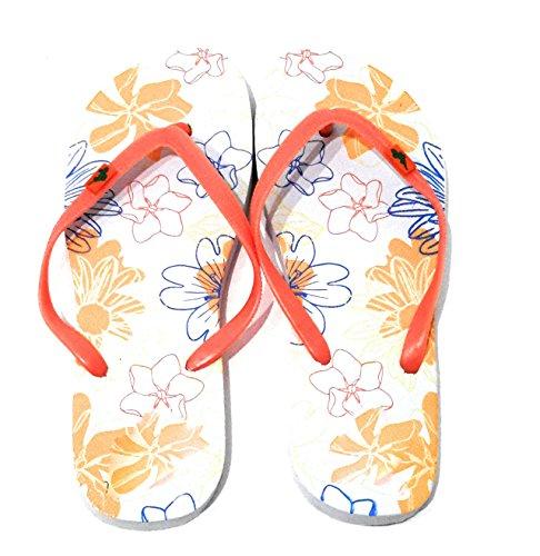 Flip Et Ruban Brandelia Flops Sole Couleurs Multicolore Été Plage Piscine Femme Tongs Varièes Sandales Orange SwRRqtfY
