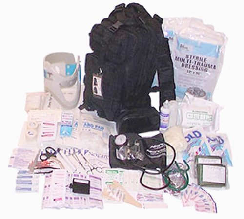 Fully Stocked Tactical Trauma Kit First Aid Kit Bag