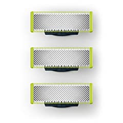 The Philips Norelco OneBlade replacement blade trims, edges, and shaves any length of hair. The unique OneBlade shaving technology integrates a fast moving cutter (200x per second) with a dual protection system to give you an efficient comfor...